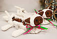 Сушки на лезвие коньков, мягкие Котята (бело-коричневые), фото 5