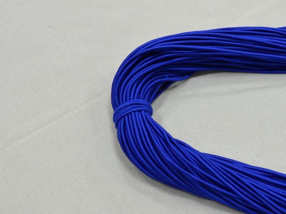 Резинка шляпная цвет электрик арт. 15071/16, цена за рулон 80 метров.