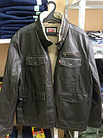 Куртка Levis  Sherpa Lined  - BROWN (кожзам)