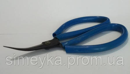 Ножницы загнутые (кривые) усиленные 13 см, инструмент для бижутерии, рукоделия