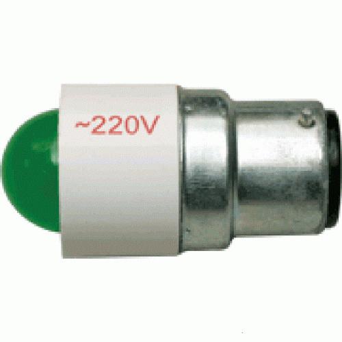 Лампа СКЛ5А-Ж-2-220 B22d/25x26 Желтая