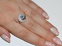 Кольцо из серебра с золотом, фото 1