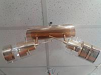 Люстра потолочная на 2 два поворотных плафона 1167, фото 1