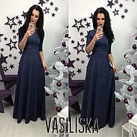 Вечернее платье в пол ан-11692-2