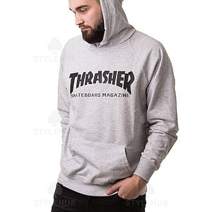 Thrasher magazine ХУДИ / серая/ бирка оригинал
