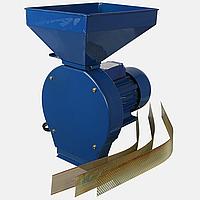 Зернодробилка ДТЗ КР-01 (1,8 кВт 180 кг/час, зерно), фото 1