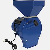 Зернодробилка ДТЗ КР-02 (2,5 кВт 200кг/час, зерно + початки кукурузы)