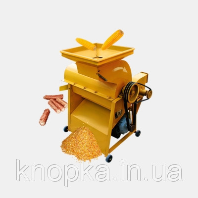 Молотарка кукурудзяних качанів 5TY-0.5 Д (з двигуном)