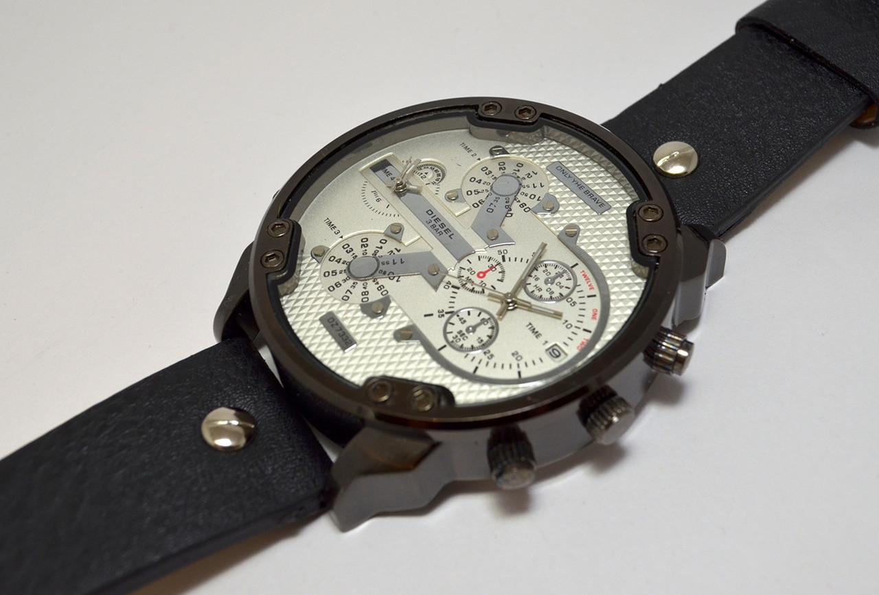 Мужские часы  Diesel - Dz 7332 - черный корпус, фото 1