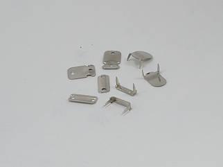 Крючок брючный арт. 25016 цвет никель, цена за упаковку 100шт.