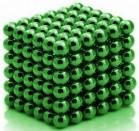 Неокуб, NeoCube 5 мм, зеленый / магнитный конструктор, фото 1
