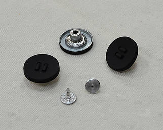 Кнопка джинсовая арт. 25027-black, цена за упаковку 100шт.