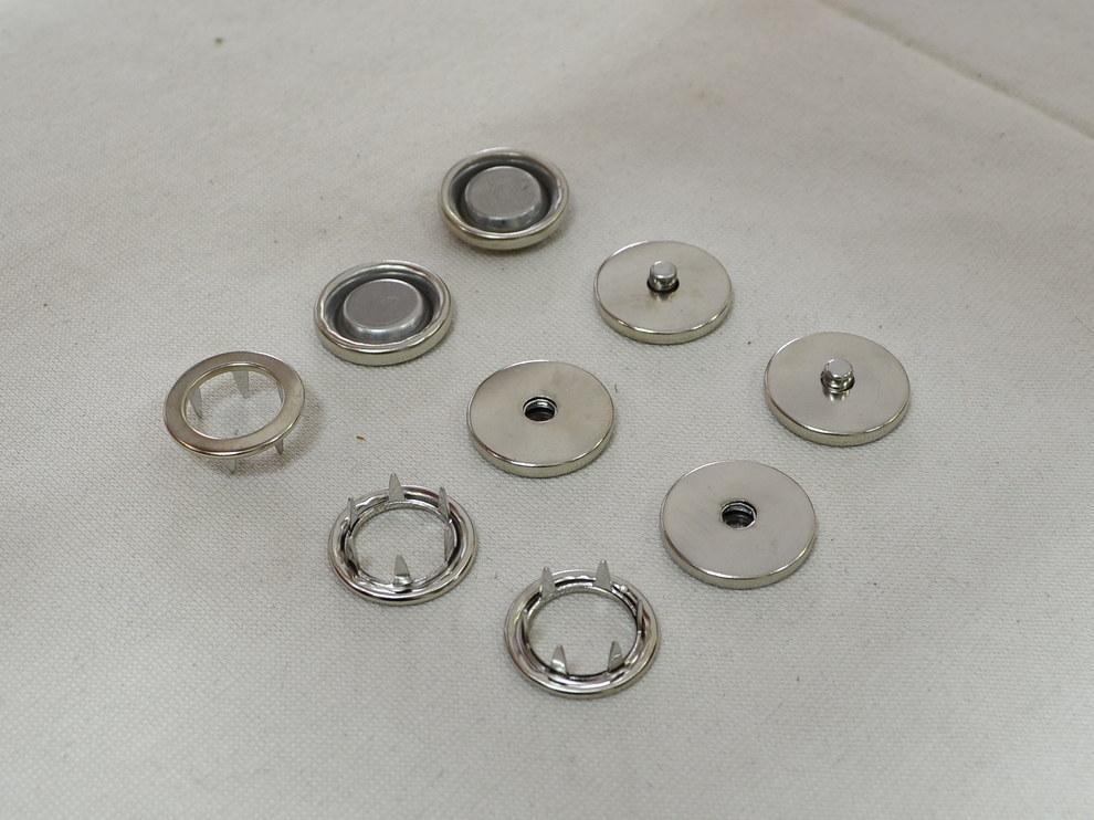 Установочная кнопка, цвет никель арт. 25059, цена за упаковку 50 шт.