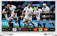 Телевизор самсунг 32 дюйма смарт тв с Т2 Samsung UE-32J4710 AKXUA серый