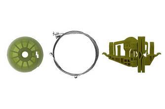 Ремкомплект механизма стеклоподъемника задней левой двери Fiat Doblo 2010 - 2017