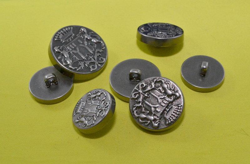 Пуговица металлизированая арт. 2694, цена за упаковку 144шт.