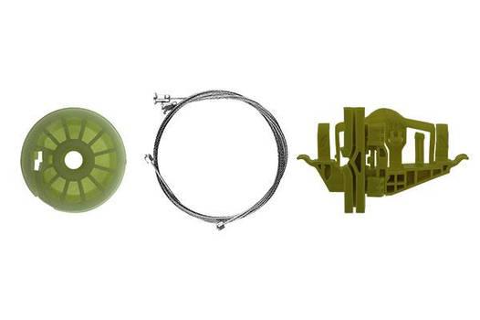 Ремкомплект механизма стеклоподъемника задней правой двери Fiat Doblo 2010 - 2017