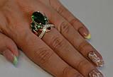 Кольцо из серебра с золотыми вставками, фото 8