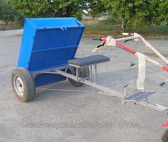 Прицеп усиленный откидной с тормозами Ярило 1250Х1000 (жигулевская ступица) разборной