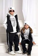 """Детский костюм тройка """"Armani""""  утепленный, 3 цвета  / Детская одежда арт 3045-95"""