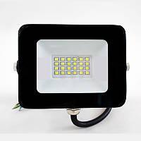 Светодиодный прожектор ULTRALIGHT SPG 10 Slim, 10W, 220V, IP65, Premium, 900Lm, 6400K белый холодный