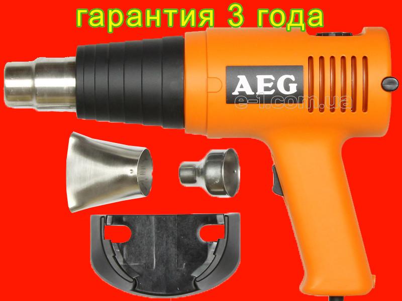 Строительный фен AEG PT 600 EC с регулировкой температуры