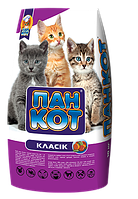 Пан Кот Класик - сухой корм для требовательных кошек, 10 кг