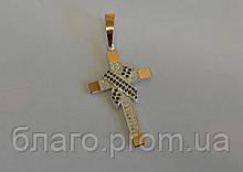 Срібний хрест чоловічий