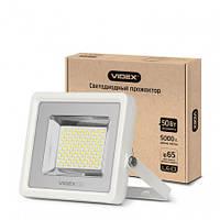 Прожектор VIDEX 50W 5000K 220V White