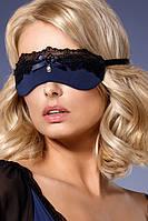 Повязка на глаза Obsessive 825-ACC-6 Сине-черный