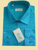 Купить рубашку бирюзового цвета