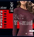 Женская термокофта Jiber 597 бордо, фото 3
