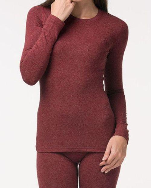 Женская термокофта Jiber 597 бордо