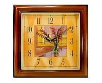 Часы Rikon 9051 PIC Wood Flower-E Настенные