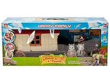 Повозка-дом Happy Family 012-05 Животные флоксовые (аналог Sylvanian Families), фото 3