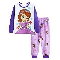 Детская осенняя пижама для девочки