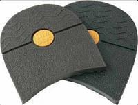 Набойка Тапа фасон большой т. 6,0 мм цвет черный