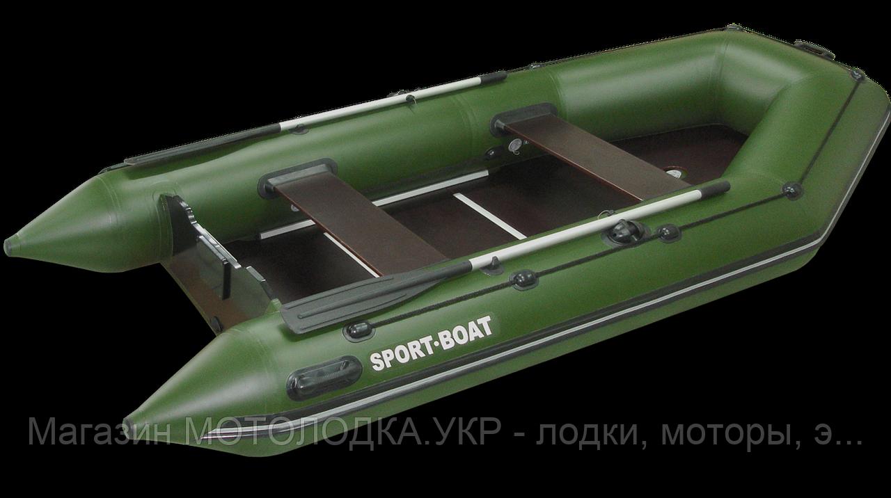 Лодка Sport-Boat NEPTUN N 340 LК * килевая (ПВХ: 5 слоёв, 1050 гр\м²,  Германия)