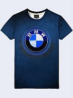 Футболка BMW эмблема