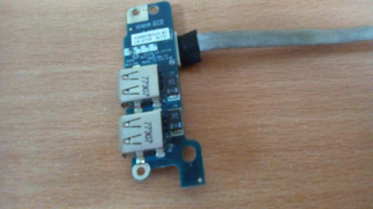 Плата с x2 USB LS-3771P