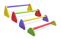Барьеры для прыжков цветные