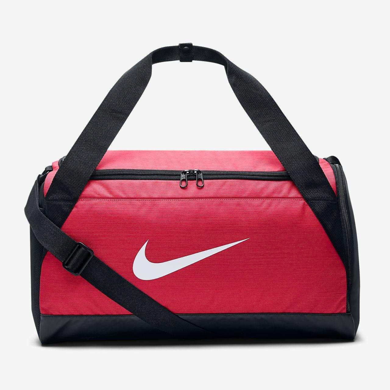 Женская спортивная сумка маленькая Nike Brazilia Duffel BA5432-644 XS 25 л (original) для спортзала