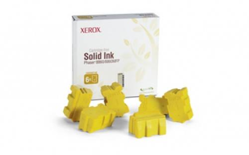 Брикеты твердочернильные Xerox PH8860 Yellow, фото 2