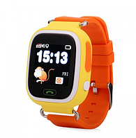 Детские GPS Часы Smart Baby Watch Q80 orange