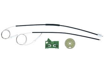 Ремкомплект механизма стеклоподъемника передней левой двери Peugeot 306 Coupe