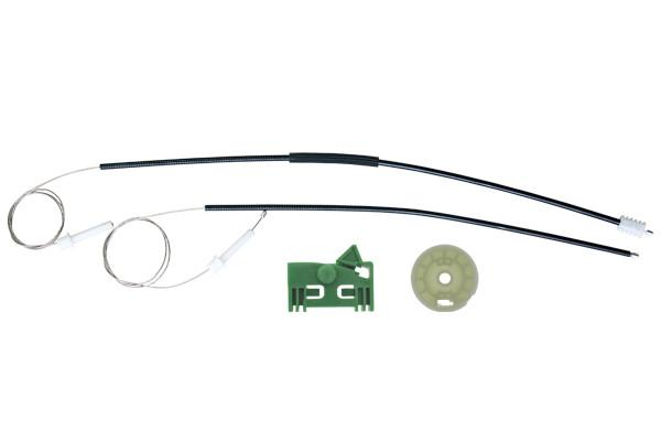 Ремкомплект механизма стеклоподъемника передней правой двери Peugeot 306 Coupe
