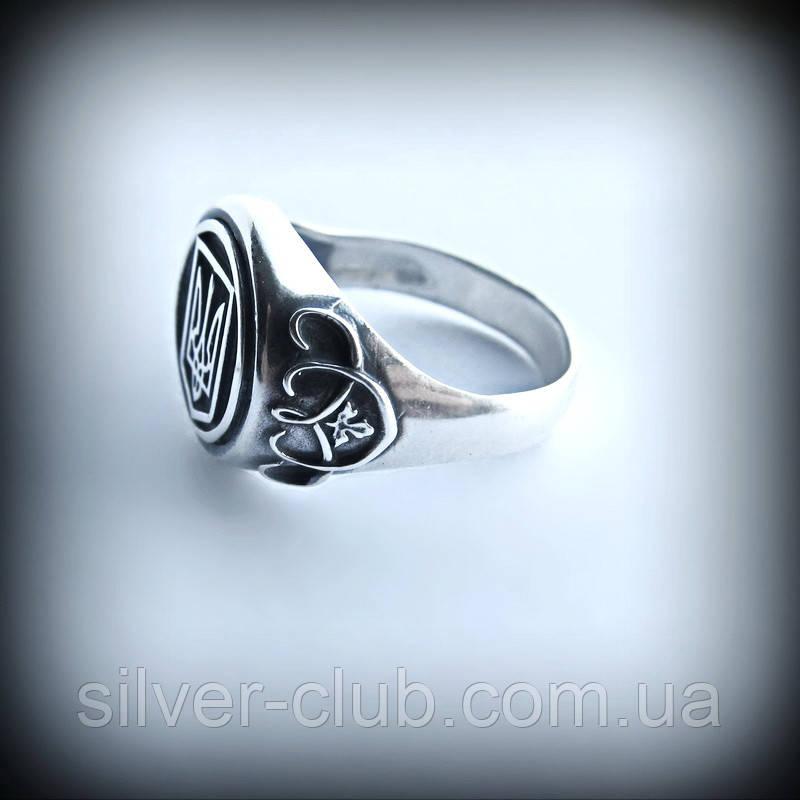 1027 Кольцо с гербом Украины Патриот серебро 925 пробы  продажа ... 13b469e2485b4