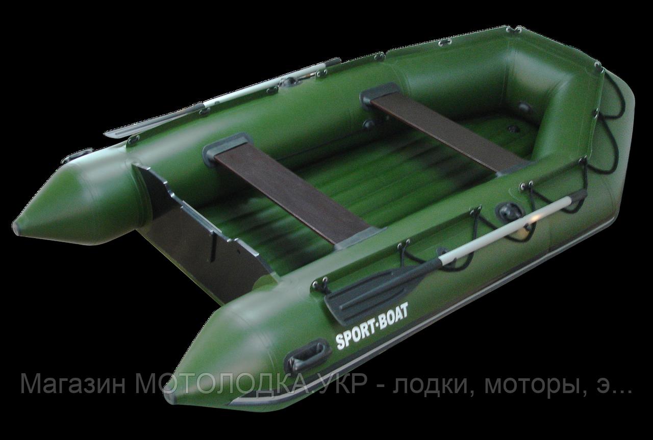 Лодка Sport-Boat NEPTUN N 340 LD * килевая (ПВХ: 5 слоёв, 1050 гр\м²,  Германия)
