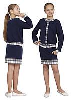 Костюм для девочки трикотажный М-1100-1101 рост 116 122 128 134 140 146 152 и 158, фото 1
