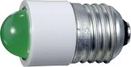 Лампа СКЛ7-Л-2-220 Е27/27 Зелена